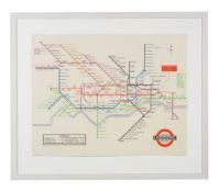 Harry Beck (British 1902-1974) London Underground Map