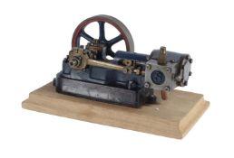 A well engineered model of a Stuart Turner 10H horizontal live steam engine