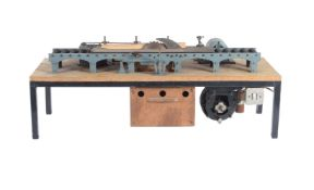 An interesting model of an industrial 'saw mill' rack saw bench