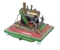 A Mamod live steam plant