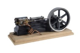A model of a Stuart Turner S50 horizontal mill engine