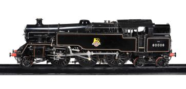 A fine exhibition standard model of a 7 1/4 inch gauge British Railways Class 4T 2-6-4 tank locomot