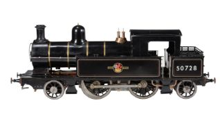 A well engineered 5 inch gauge model of a Lancashire and Yorkshire 2-4-2 side tank locomotive No 507