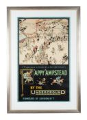 Tony Sarg (1880-1942) 'Appy 'Ampstead by the Underground