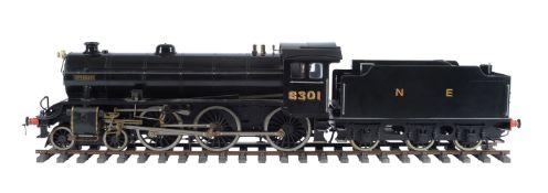 A well engineered 5 inch gauge model of a Thompson Class B1 4-6-0 tender locomotive No 8301 'Springb