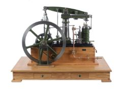 An exhibition standard model of a Stuart Turner Major Beam engine
