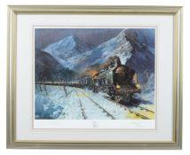 λ Terence Cuneo (British 1907 -1996) 'Simplon-Orient Express'