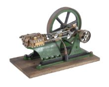 A vintage model of a horizontal mill/wall engine