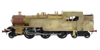 A well engineered 5 inch gauge model of a 2-6-4 side tank locomotive