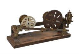 A rare portrait or medallion reduction lathe, Unsigned, mid 19th century