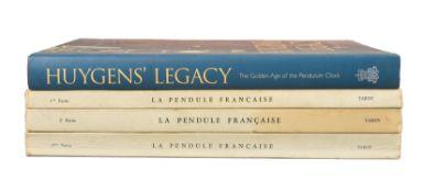 Tardy LA PENDULE FRANCAIS - three volumes: