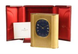 A Swiss photo-electric quartz timepiece 'Golden Ellipse', Patek Philippe, Ref. 1505 circa 1977-78