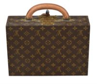 Louis Vuitton, a monogrammed jewellery case