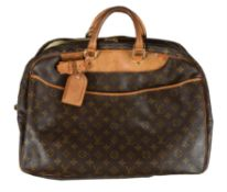 Louis Vuitton, a monogrammed canvas bag