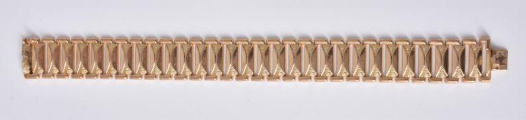 A 1950s Italian gold coloured bracelet