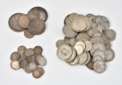 British silver coinage