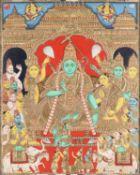 Rama and attendants