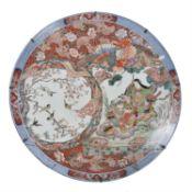A large Japanese Imari Charger