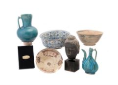 A Collection of Islamic Pottery Vessels