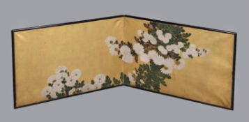 A Japanese Furasaki or screen for the Cha-no-yu
