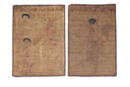 Two Tibetan Medical Charts