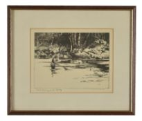 Norman Wilkinson (1878-1971) Three framed and glazed etchings
