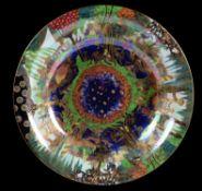Daisy Makeig-Jones for Wedgwood, a Fairyland Lustre Lily Tray bowl