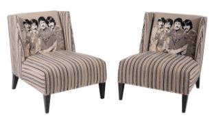 Andrew Martin, a pair of armchairs