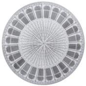 Piero Fornasetti (1913-1988) for Atelier Fornasetti, Architettura, a circular table