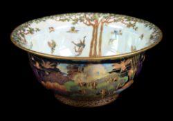 Daisy Makeig-Jones for Wedgwood, a Fairyland Lustre bowl