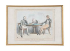 After Thomas Mclean, A set of seven political cartoons
