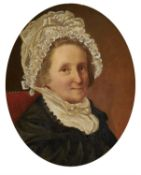 Circle of John Linnell (British 1792-1882) , Portrait of Ann Matson