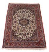 Two rugs in Persian style