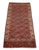 A Tekke gallery rug