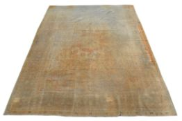 A Kirman wool carpet