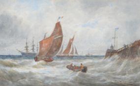 Thomas Bush Hardy (British 1842-1897), East Coast, Gorleston