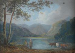 John Laporte (British 1761-1839) , Views of Ulswater