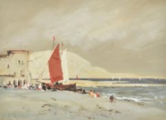 Hercules Brabazon Brabazon (British 1821-1906), On the shore, North Africa