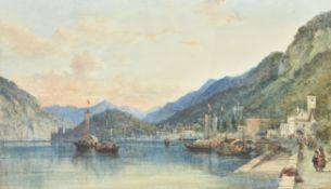 William Wyld (British 1806-1889), Lake Lucerne