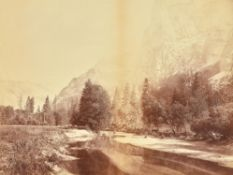 Eadweard Muybridge (American/British 1830-1904), Valley of the Yosemite, From Sandy Flat
