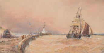 Thomas Bush Hardy (British 1842-1897), Boulogne