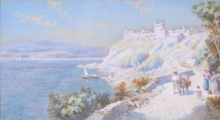 Charles Rowbotham (British 1856–1921), Castello del Pizzo, Calabrian Coast