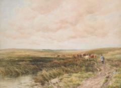 Edmund Morrison Wimperis (British 1835-1900), Near Derehem, Norfolk