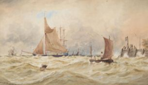 Thomas Bush Hardy (British 1842-1897), On the Medway
