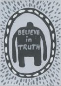 Ralph Lazar, Believe In Truth (Timothy Snyder), 2020
