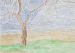 Ben Walker, A Tree in Winter, 2020