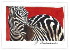 Frances Ferdinands, Zebra, 2020