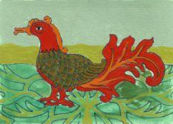 Frances Ferdinands, Mythical Bird, 2020