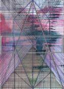 Joe Lloyd, Purple Star Pattern, 2020
