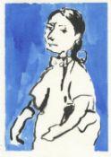 Liorah Tchiprout, Blue Magda, 2020